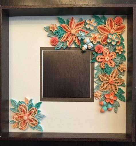 73 best images about My Quilled Frames on Pinterest