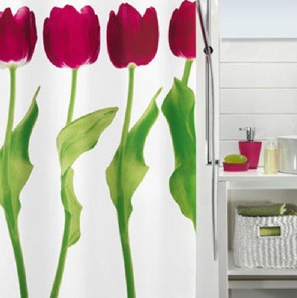 Free shipping Black & White Zebra Design Bathroom Fabric ...