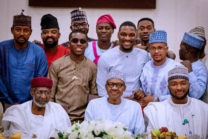 [Entertainment News] Small Doctor, Sound Sultan & Tobi Bakre Accused Of Taking N2Million 'Bribe' From President Buhari