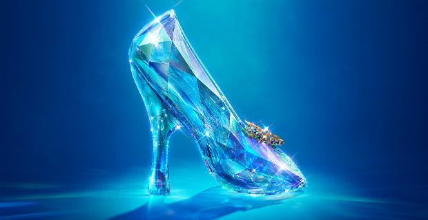 Sepatu kaca Cinderella