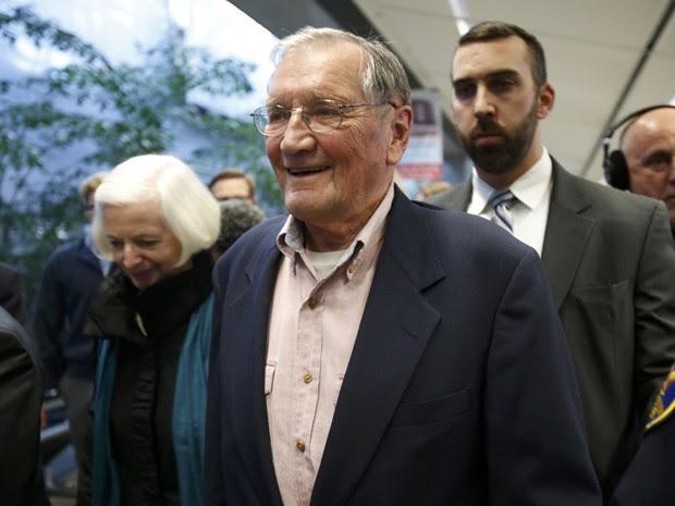 O veterano voltou aos Estados Unidos neste sábado (7). (Foto: Stephen Lam/Reuters)