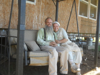 David & Susan on Porch Swing