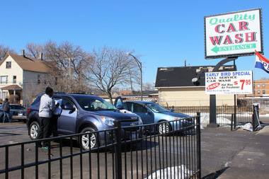 Warm Weather Brings South Siders to West Chatham Car Wash
