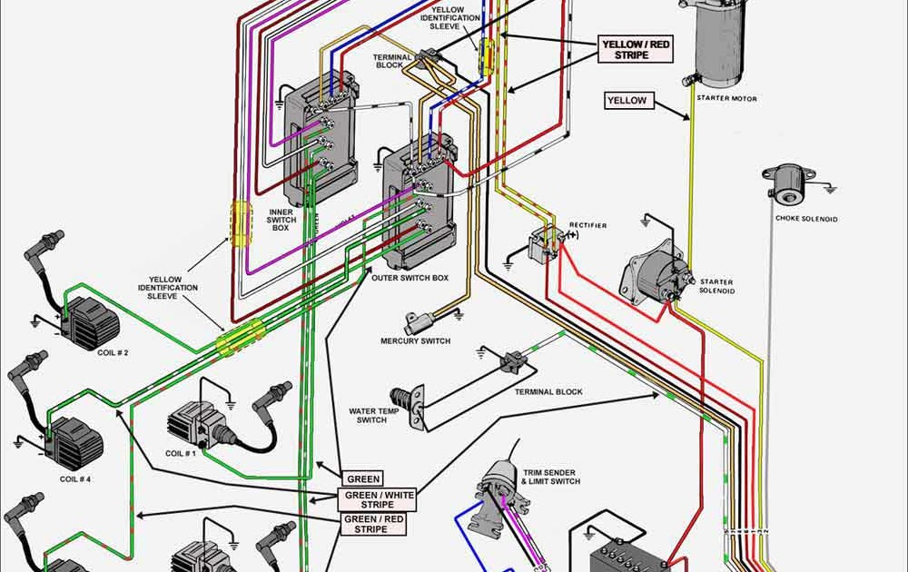 Wiring Diagram  34 Mercury Outboard Wiring Diagram