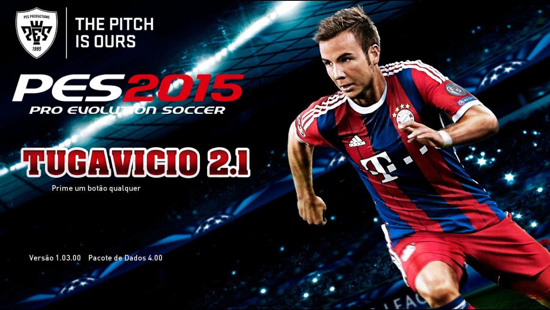 [PES 2015 PC] Patch Tuga Vicio v2.1 - 25/04/2015