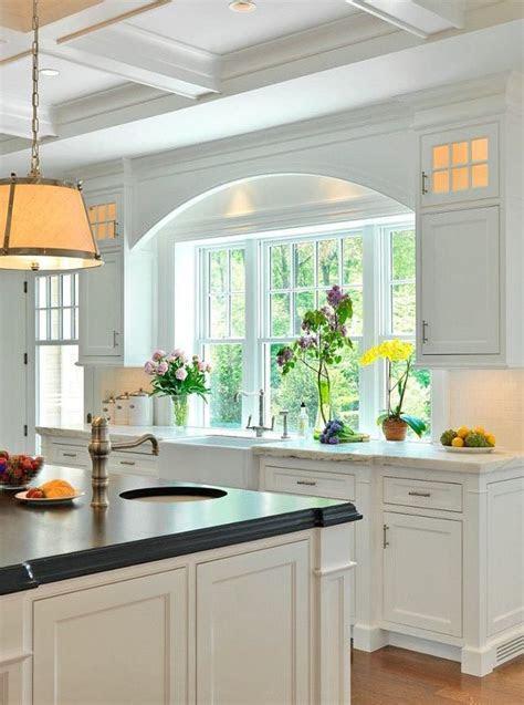 kitchen remodel windows flush  counter home