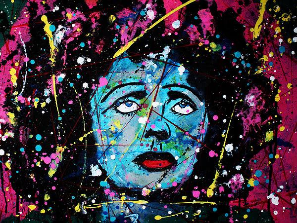 Edith Piaf by Franck De Las Mercedes