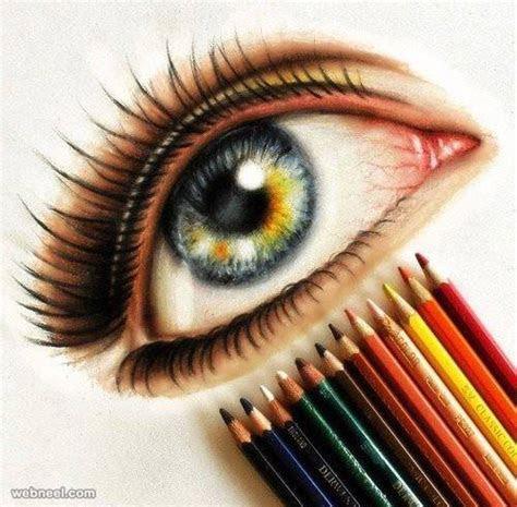 unbelievable drawings  eyes