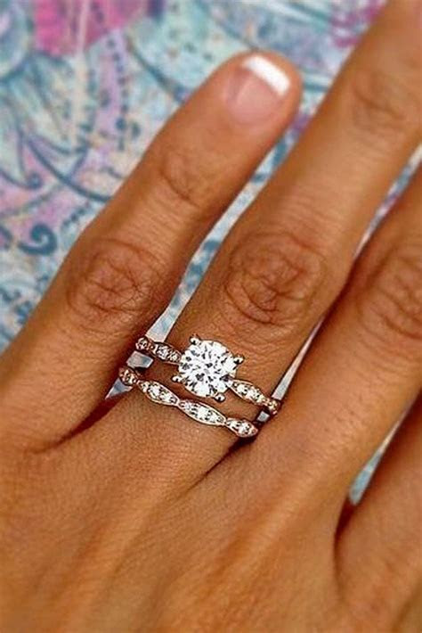 21 Excellent Wedding Ring Sets For Beautiful Women   Oh So