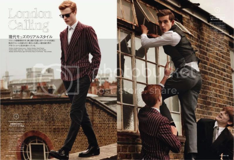 GQ Japan #100 September 2011 - London Calling @ StreetStylista.Homme
