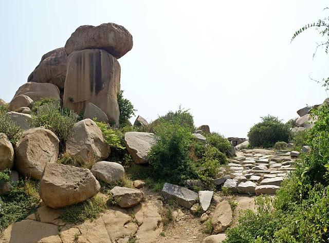 Stone Pathway, Hampi