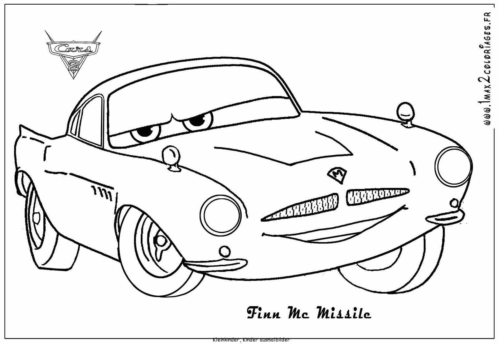 Ausmalbilder Kostenlos Cars 02 Download