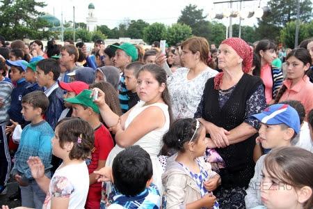 Фоторепортаж с празднования Дня Молодежи в а. Хабез