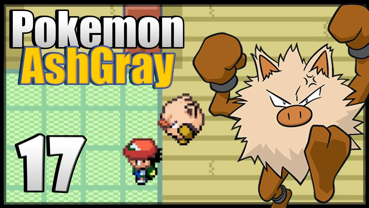 Pok\u00e9mon Ash Gray  Episode 17  YouTube
