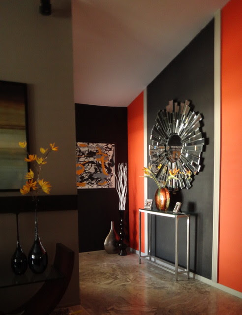 Accent Wall - modern - living room - san diego
