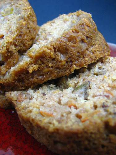Spiced Persimmon Flax Cake