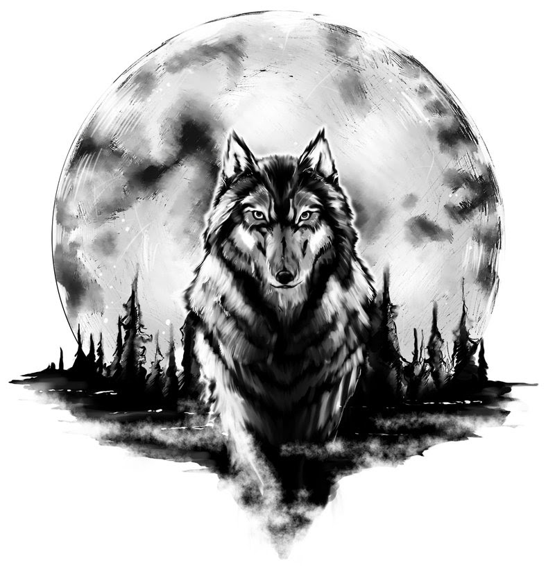 Wolf Howling Moon Tattoo For Arm In 2017 Real Photo Pictures