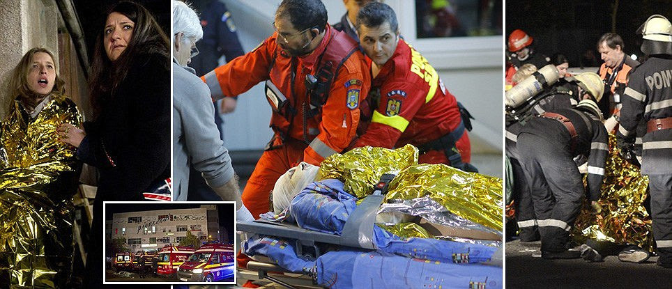 Bucharest nightclub explosion during Halloween concert leaves 26 dead