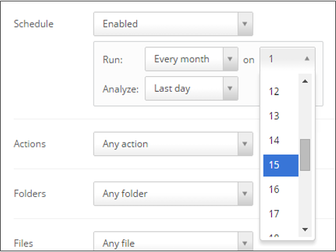 Saving or Scheduling Audit Reports – Egnyte
