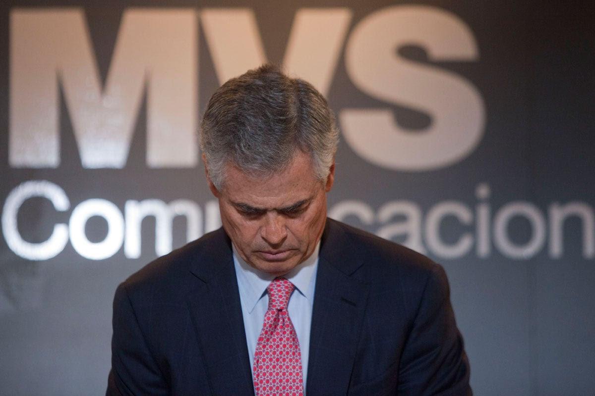 El presidente de la cadena MVS, Joaquín Vargas. Foto: Octavio Gómez