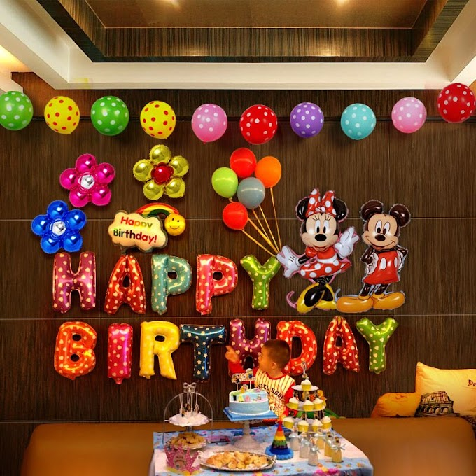 Awesome Wall Happy Birthday Decoration Ideas images