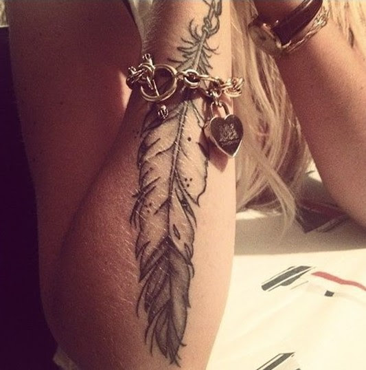 59 Sublime Feather Tattoos That Look Gorgeous Tattoomagz