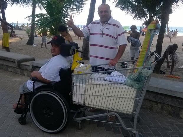 História de superação encantou o engenheiro mecânico Edson Campos, de 70 anos (Foto: Acervo Pessoal/ Edosn Campos)