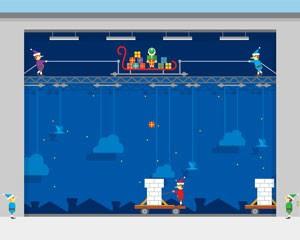 Especial de Natal traz games em que usuário deve usar o teclado do PC (Foto: Reprodução)