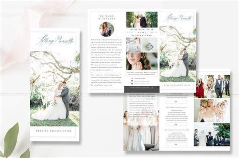 Wedding Photographer Brochure PSD ~ Brochure Templates