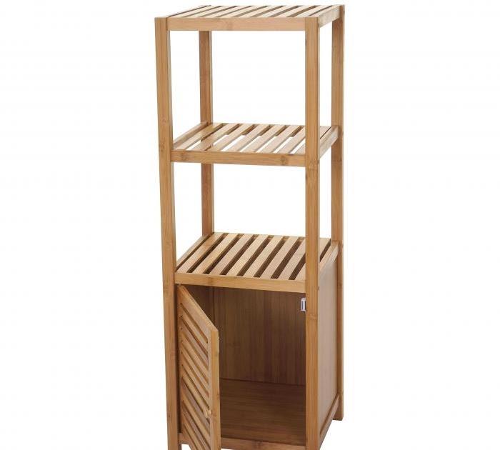 Bambus Regal Badezimmer
