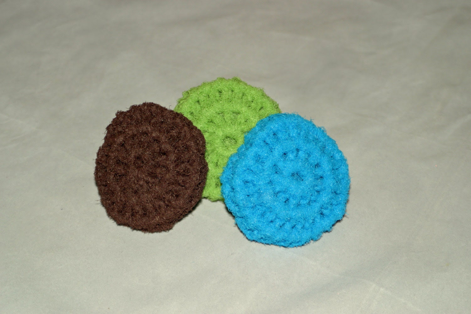 Crochet Scrubbies - Set of 3