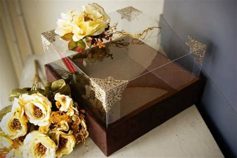 Brown Suede Seserahan Box #wedding #gift #tradition