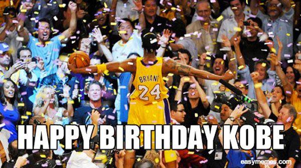 It's Kobe Bryant's birthday today... The Mamba turned 35.
