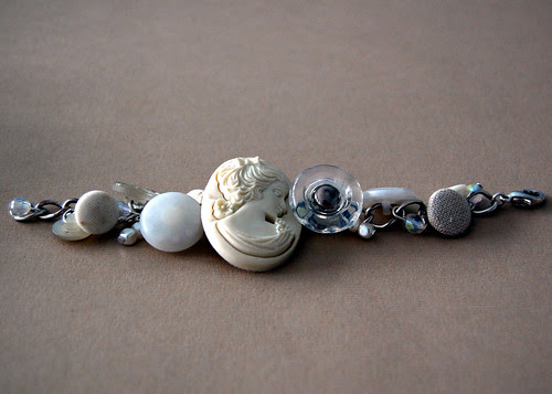 Bead & Button Bracelet - Finished
