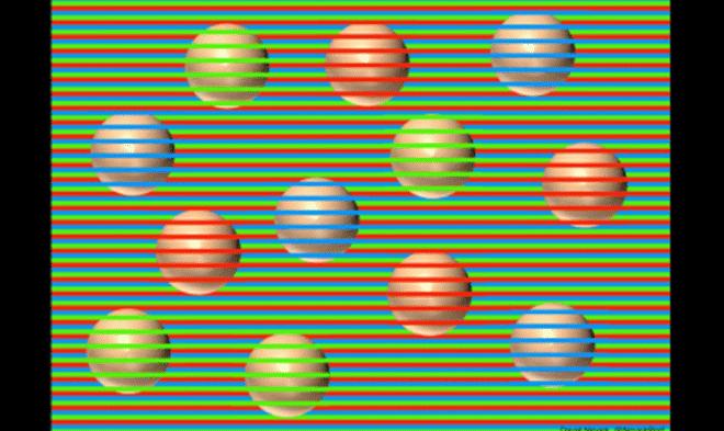 Все круги на этой картинке на самом деле одного цвета – бежевого