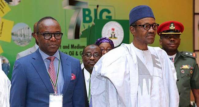 Buhari, Kachikwu in closed-door meeting
