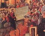 Duccio: Entry into Jerusalem