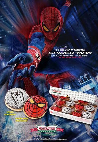 Spiderman Doughnuts