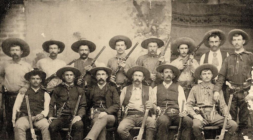 Early Texas Rangers Jim King Bass Outlaw Riley Boston