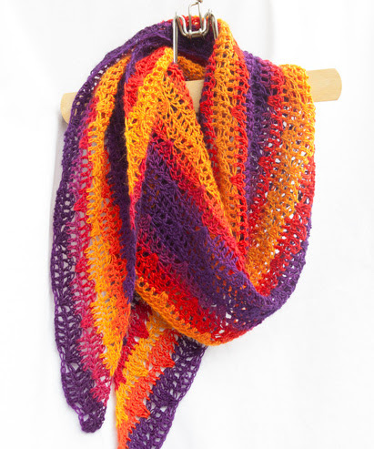 Light My Fire Shawl