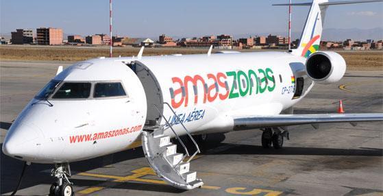 Amaszonas inaugura sala internacional do Aeroporto Marechal Rondon no dia 20 de abril com voo para Santa Cruz de la Sierra