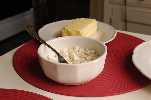 arepas - you need some butter and cheese