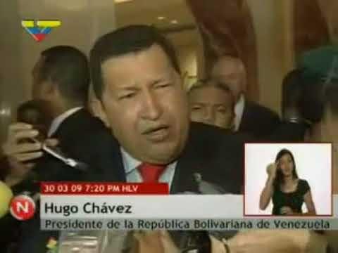 """De forma casí profética, el Comandante Chávez anuncia la creación de """"El Petro"""". 08-01-2020"""