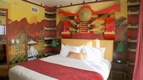 ninjago themed rooms  legoland california hotel