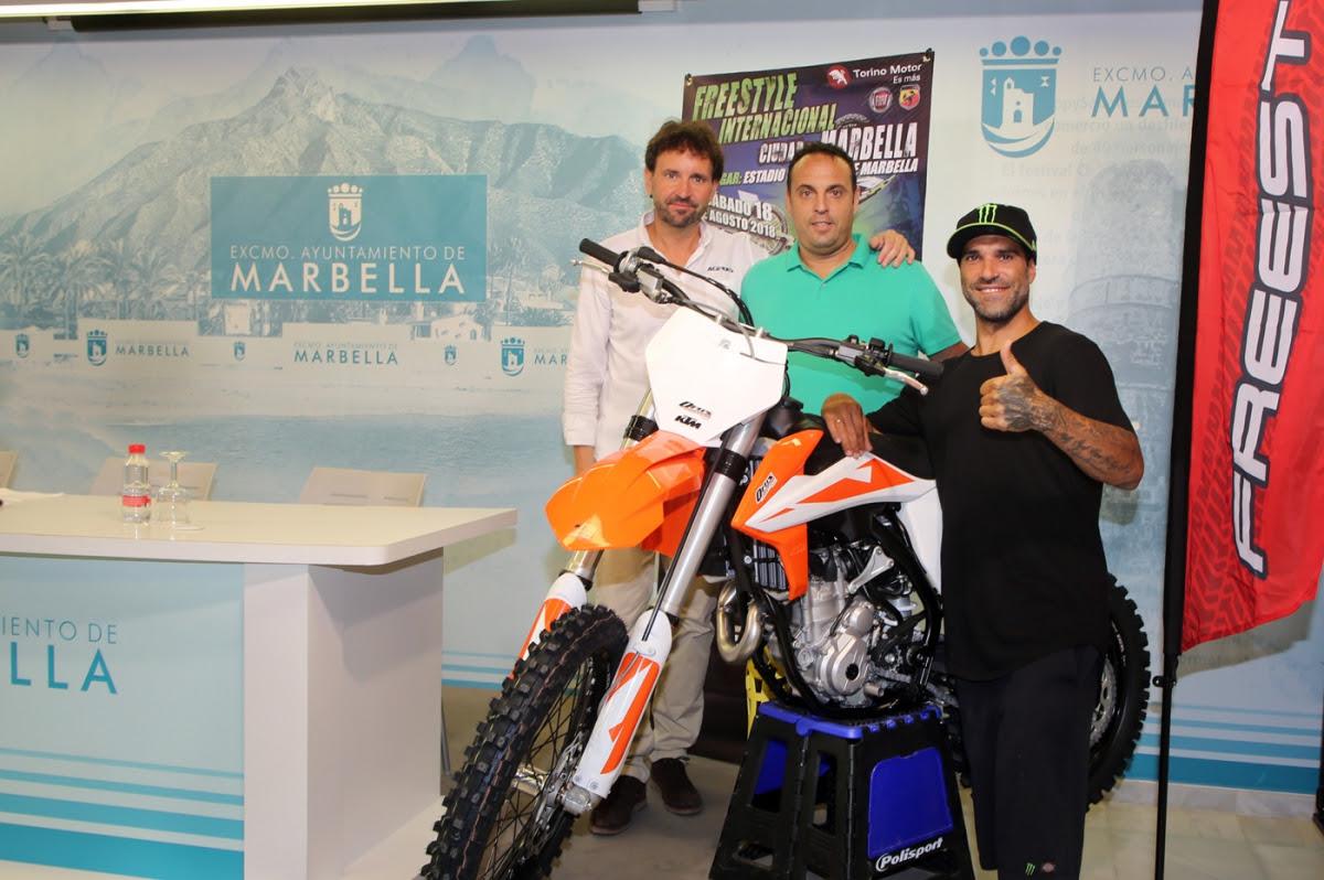 El 'Freestyle' regresa a Marbella el próximo sábado 18 de agosto con pilotos de primer nivel como Edgar Torronteras