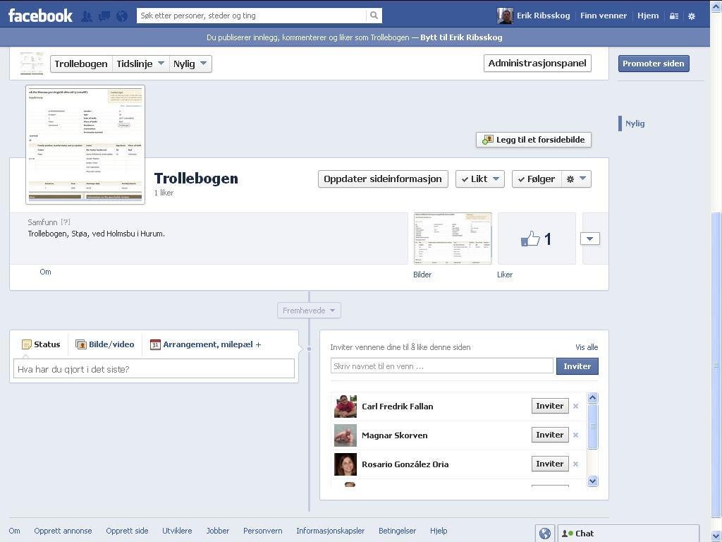 trollebogen facebook