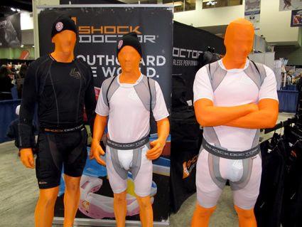 Shock Doctor human mannequins, Shock Doctor human mannequins