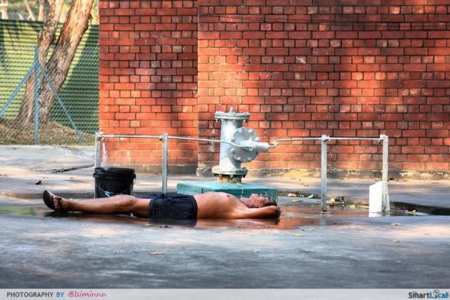 Singaporetravelmap: Things To Produce Inwards Sg - Give-Up The Ghost Soaked At Sembawang Hot Springs