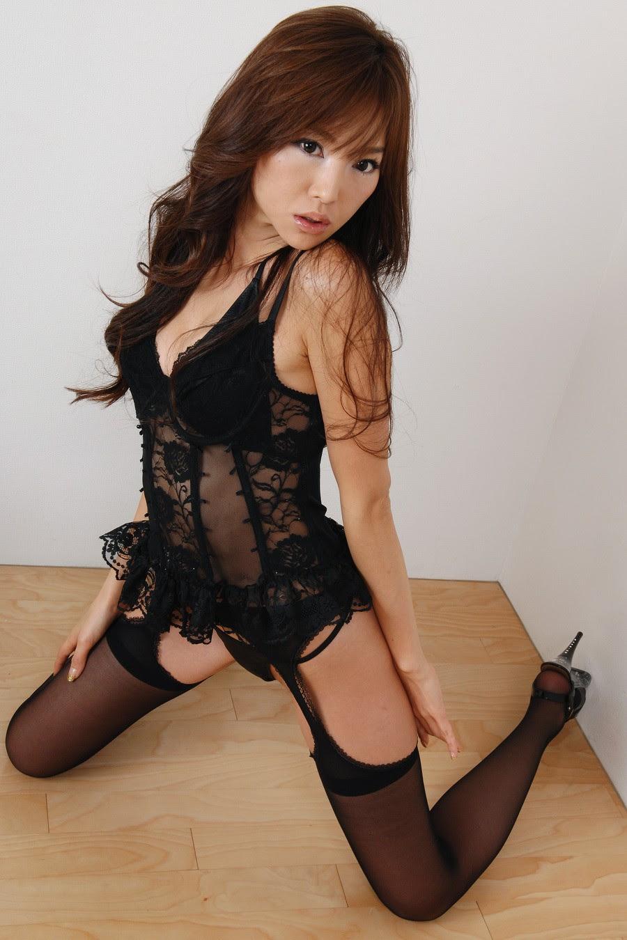 Japanese glamour stockings — photo 15