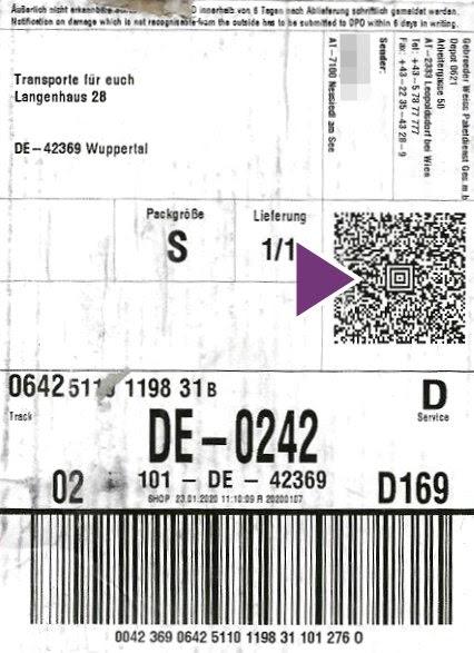 Dpd Aufkleber - Paket : Dhl Hermes Amazon Co So Andert